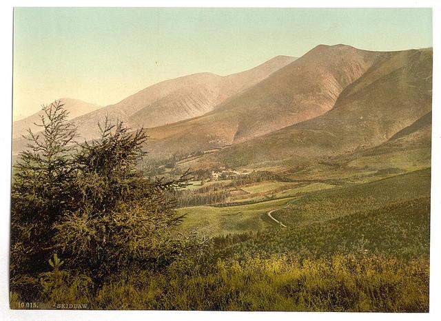 [Derwentwater, Skiddaw, from Latrigg, Lake District, England]
