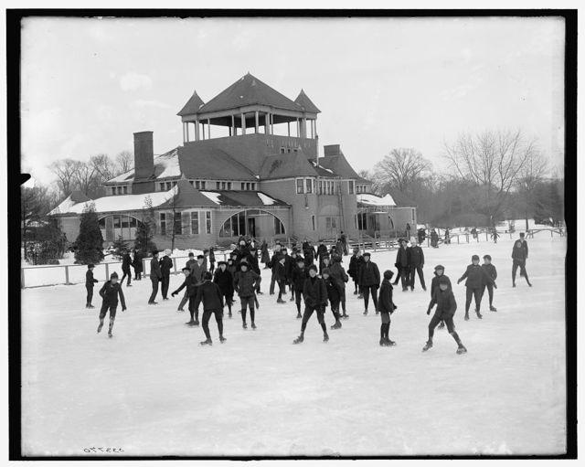[Detroit, Mich., skating at Belle Isle]