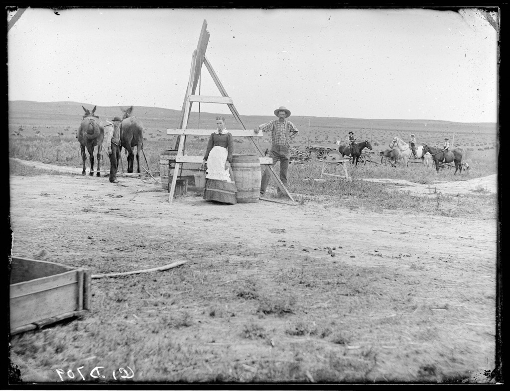 Digging a well in Nebraska