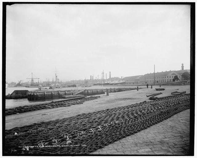 Docks and workshops, Brooklyn Navy Yard