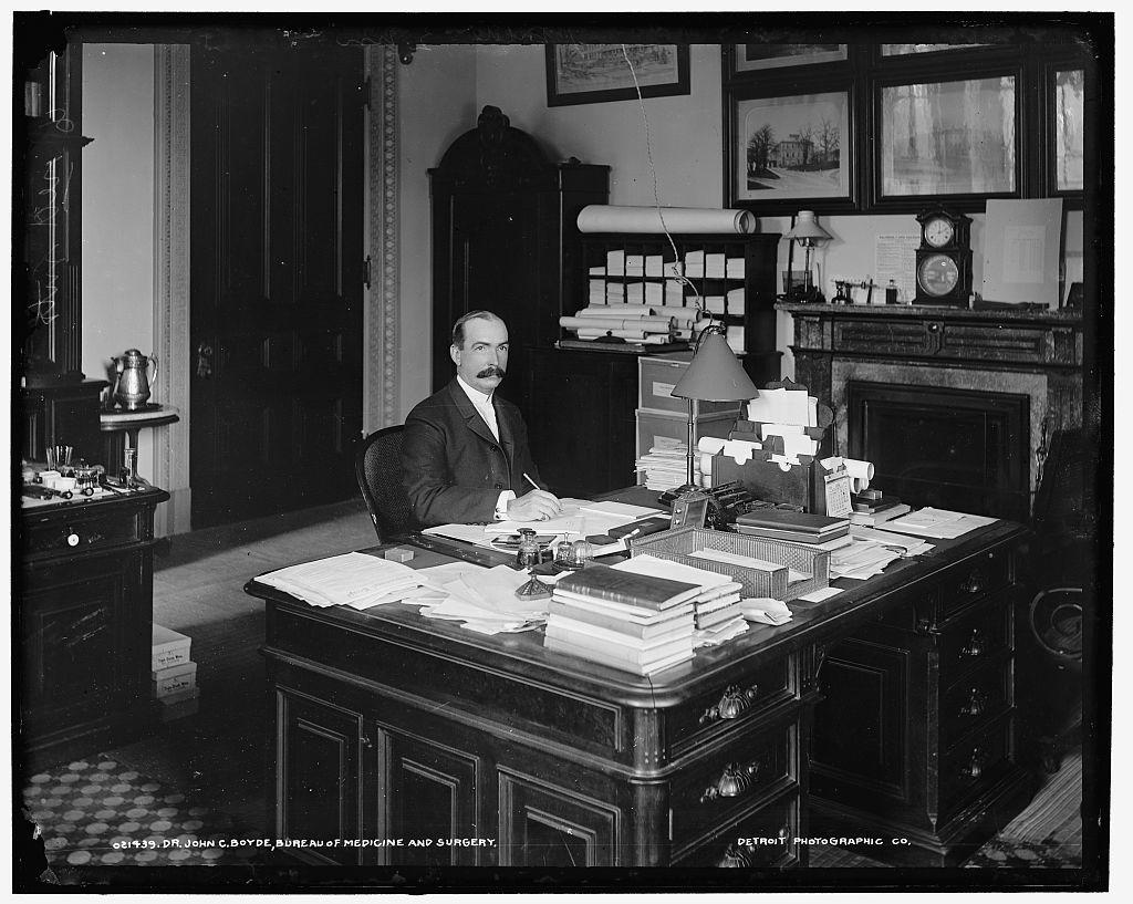 Dr. John C. Boyde, Bureau of Medicine and Surgery