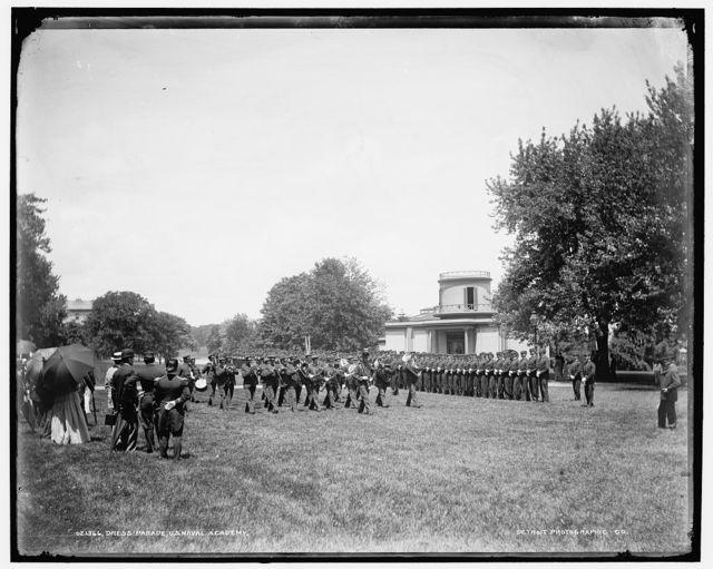 Dress parade, U.S. Naval Academy