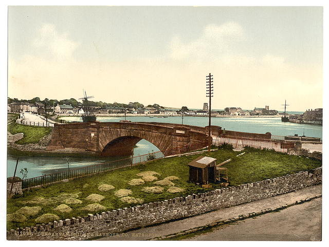 [Dungarven Bridge and Harbor (i.e. Dungarvan). County Waterford, Ireland]