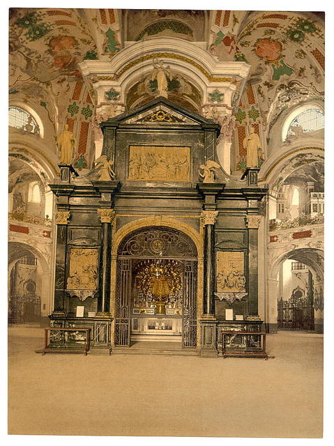 [Einsiedeln, the chapel (interior), Lake Lucerne, Switzerland]