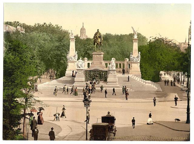 [Emperor William's Memorial, Breslau, Silesia, Germany (i.e., Wrocław, Poland)]