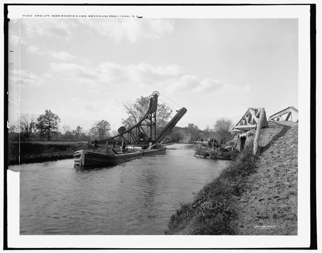 Erie lift, near Mountain View, Morris and Essex Canal, N.J.