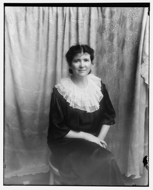 Evans, Mrs. George (Mary Handy) grand niece of Mathew Brady. May 2, 1934