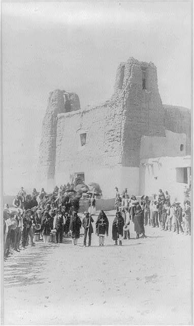 [Feast day at San Estevan del Rey Mission, Acoma Pueblo, New Mexico]