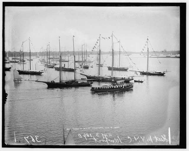 Fleet of N.Y.Y.C. [New York Yacht Club], Newport