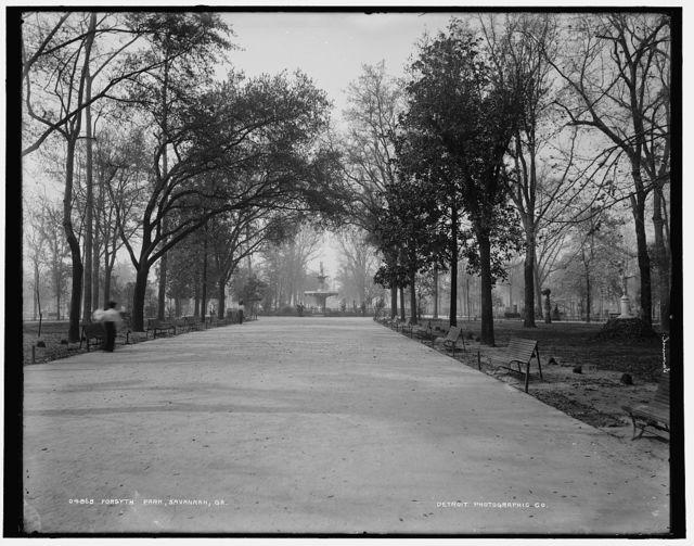 Forsythe [i.e. Forsyth] Park, Savannah, Ga.