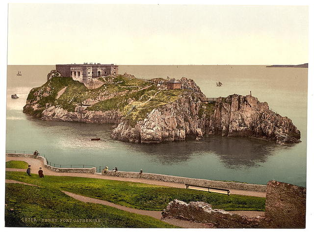 [Fort Catherine, Tenby, Wales]