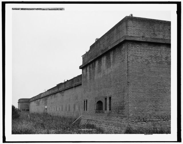 Fort Pulaski, outer wall, Savannah, Ga.