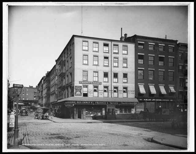 Fraunce's Tavern, Broad and Pearl Streets, New York