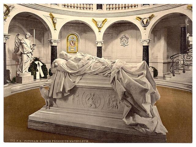 [Frederick the Great's Mausoleum, Potsdam, Berlin, Germany]