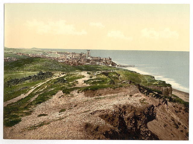 [From E. Cliff, II., Cromer, England]