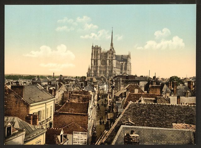 [From the belfrey, Amiens, France]
