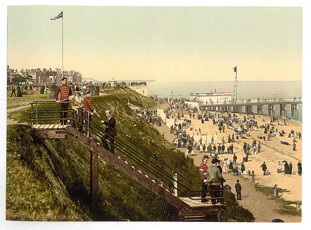 [From the cliffs, Clacton-on-Sea, England]