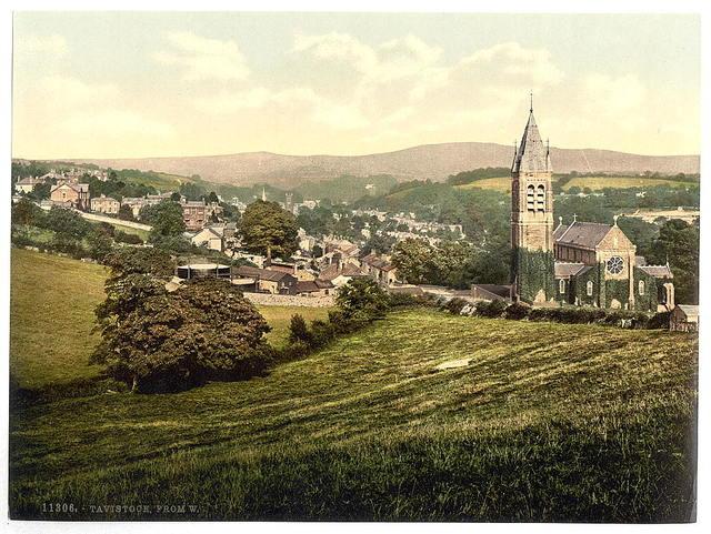 [From the west, Tavistock, England]