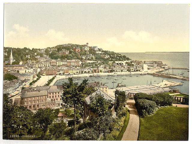 [From Waldron Hill, Torquay, England]