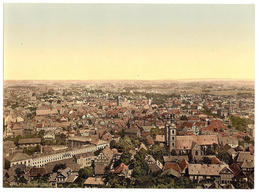 [General view, Bielefield (i.e., Bielefeld), Westphalia, Germany]