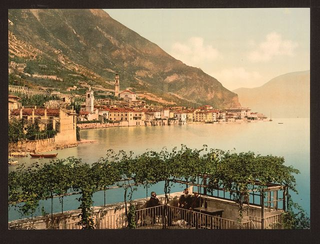 [General view, Gargnano, Lake Garda, Italy]