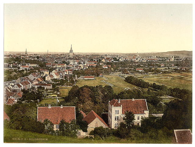 [General view, Hildesheim, Hanover, Germany]