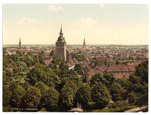 [General view, Luneburg, Hanover, Germany]