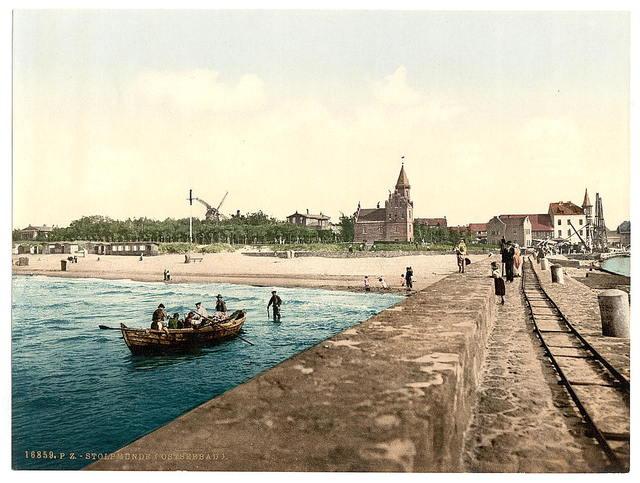 [General view, Stolpmunde, Pomerania, Germany (i.e., Ustka, Poland)]