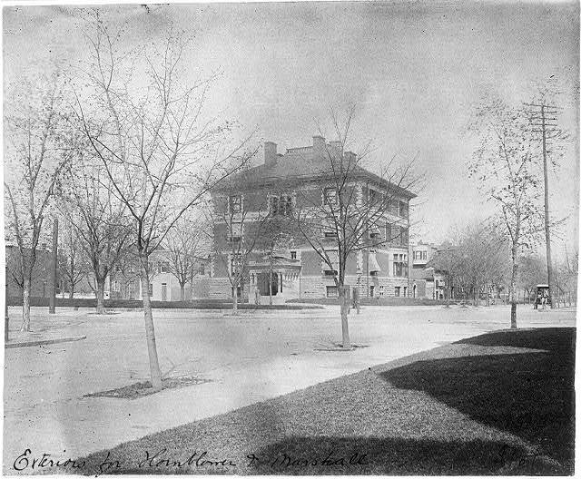 [George S.] Fraser House, R St. and Conn. Ave., N.W., Washington, D.C.