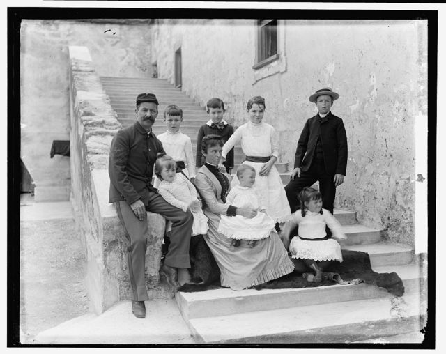 G.M. Brown & family, St. Augustine
