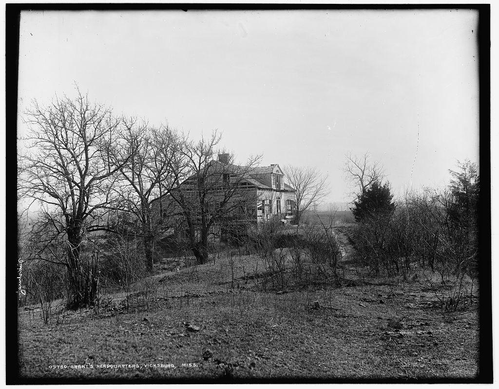 Grant's headquarters, Vicksburg, Miss.