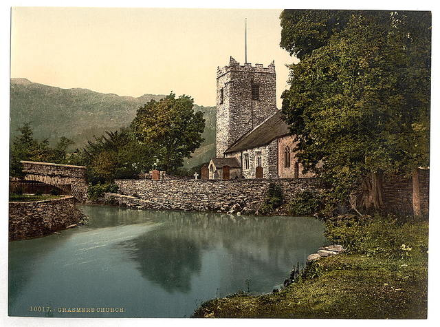 [Grasmere Church, Lake District, England]