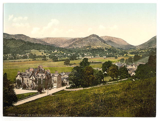 [Grasmere, from Prince of Wales Hotel, Lake District, England]