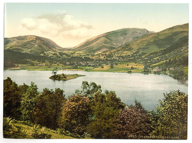 [Grasmere, from Red Bank, Lake District, England]