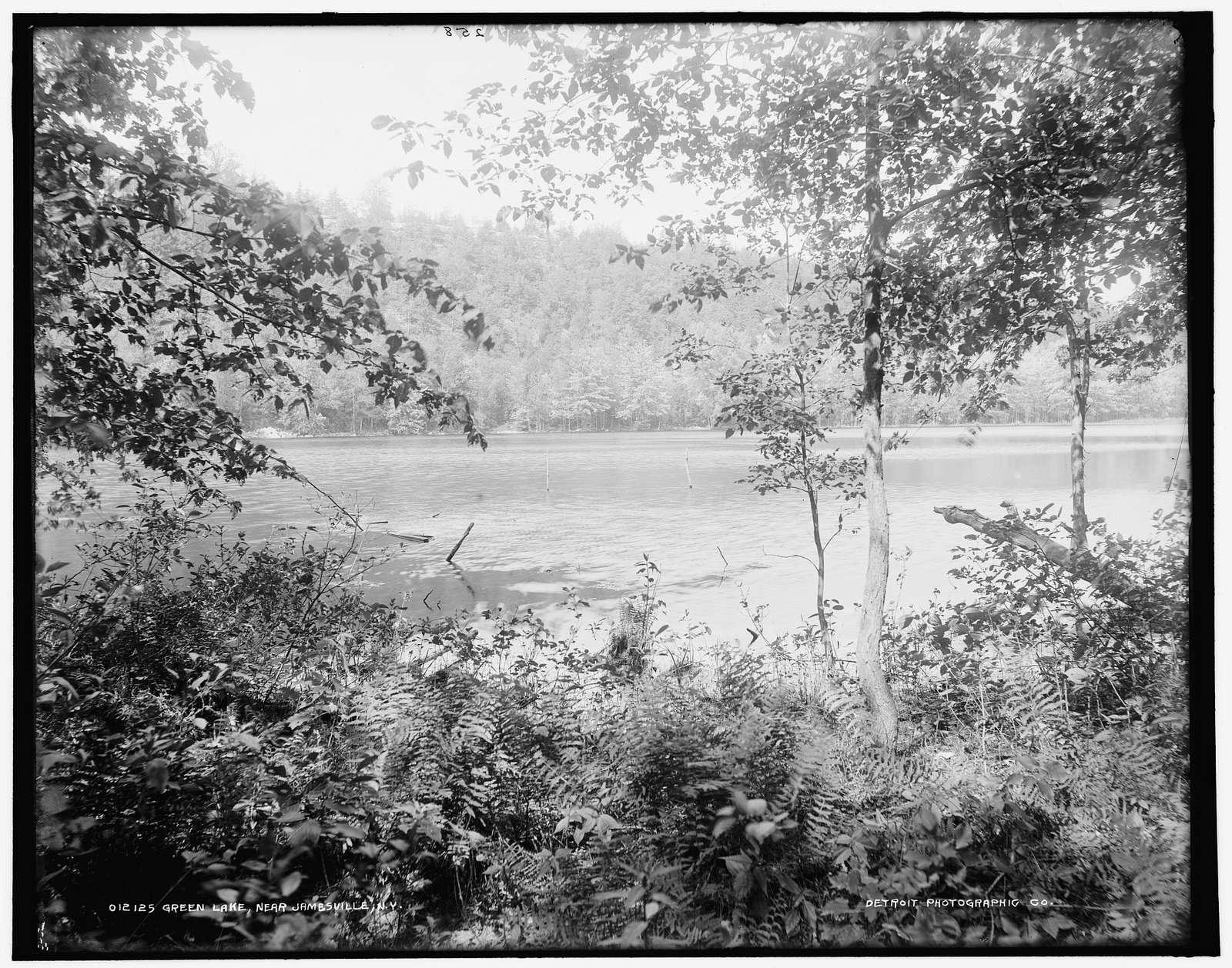 Green Lake near Jamesville, N.Y