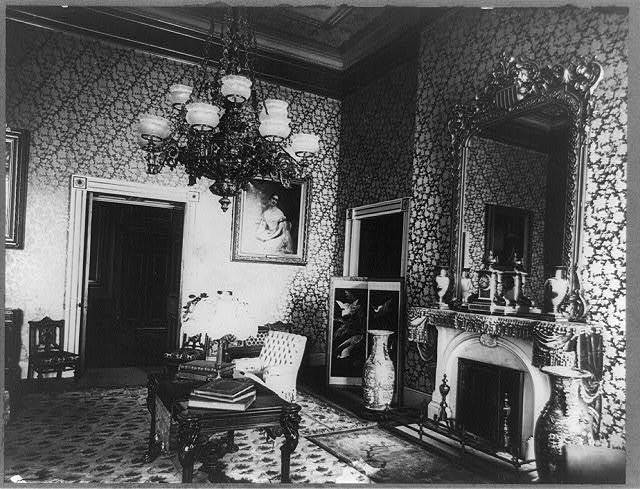 Green room in the White House, Washington, D.C.