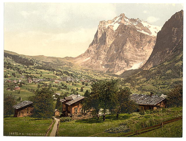 [Grindelwald, general view, Bernese Oberland, Switzerland]