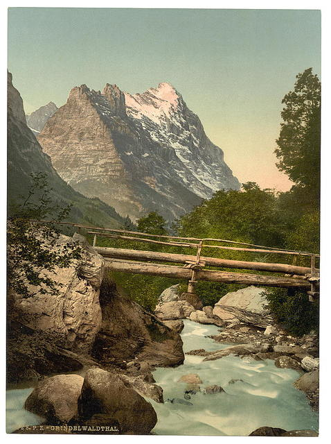 [Grindelwald, with Eiger, Bernese Oberland, Switzerland]