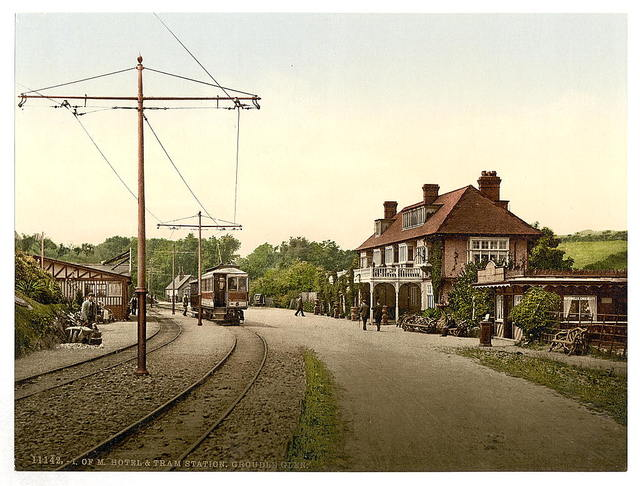 [Groudle Glen Hotel and tram station, Isle of Man]
