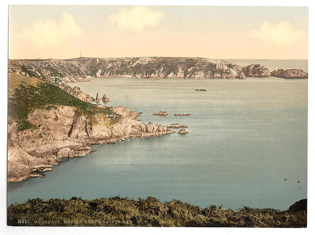 [Guernsey, Moulin Huet Bay and Saints' Bay, Channel Islands]