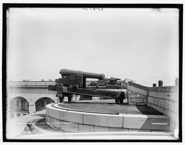 Guns of Old Fort Henry, Kingston, Ontario