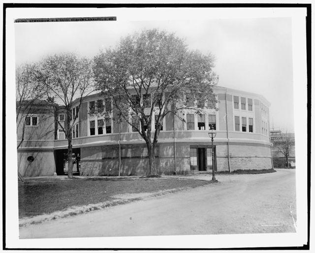 Gymnasium, U.S. Naval Academy, Annapolis, Md.