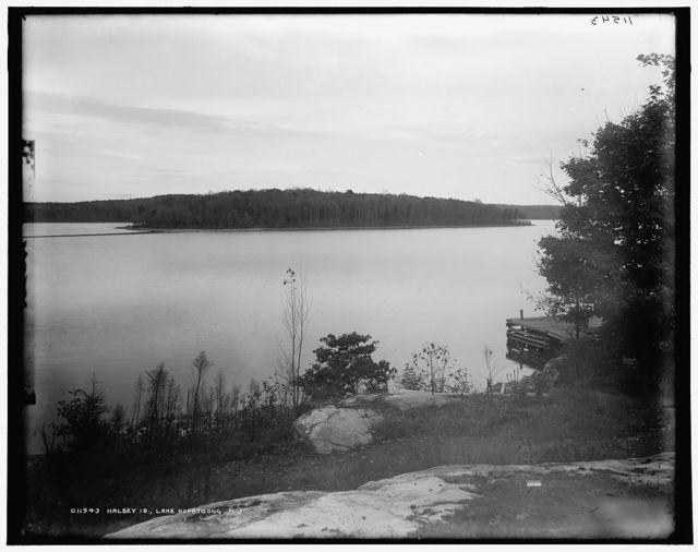 Halsey Is., Lake Hopatcong, N.J.