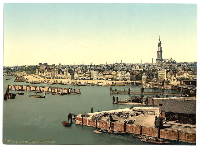[Hamburg from the Watch Tower, Germany]