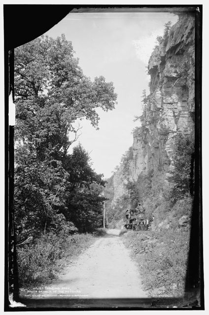 Hanging rock, south branch of the Potomac