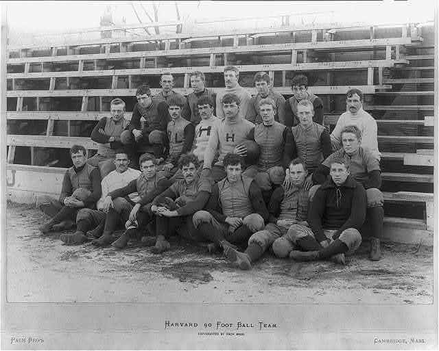 Harvard 90 foot ball team
