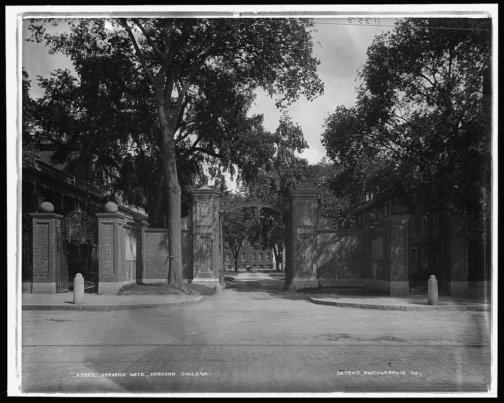 Harvard Gate, Harvard College