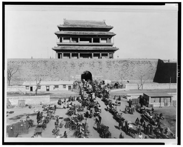 [Hata-men Gate, Peking, Hopeh province, China]