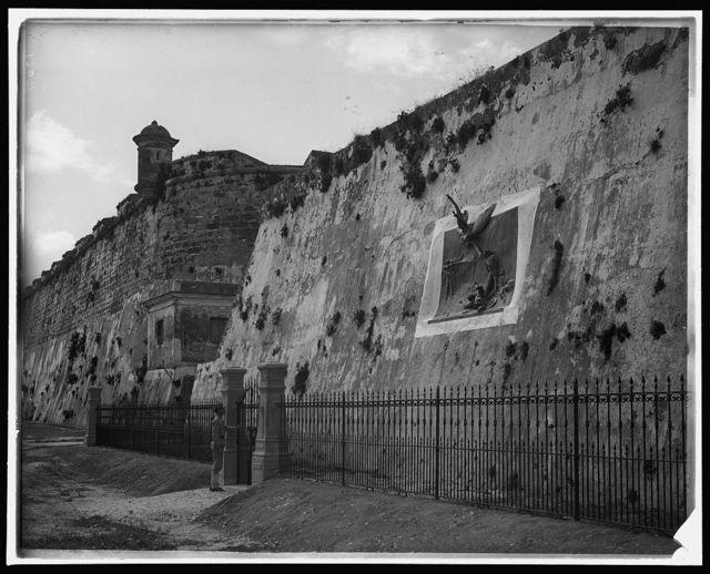 [Havana, Cuba, execution wall in Cabanas]