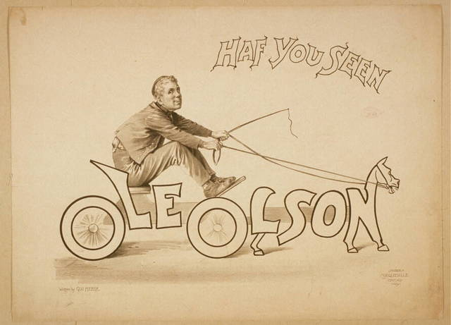 Have you seen Ole Olson